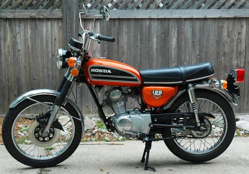 Honda CB 125 del 74