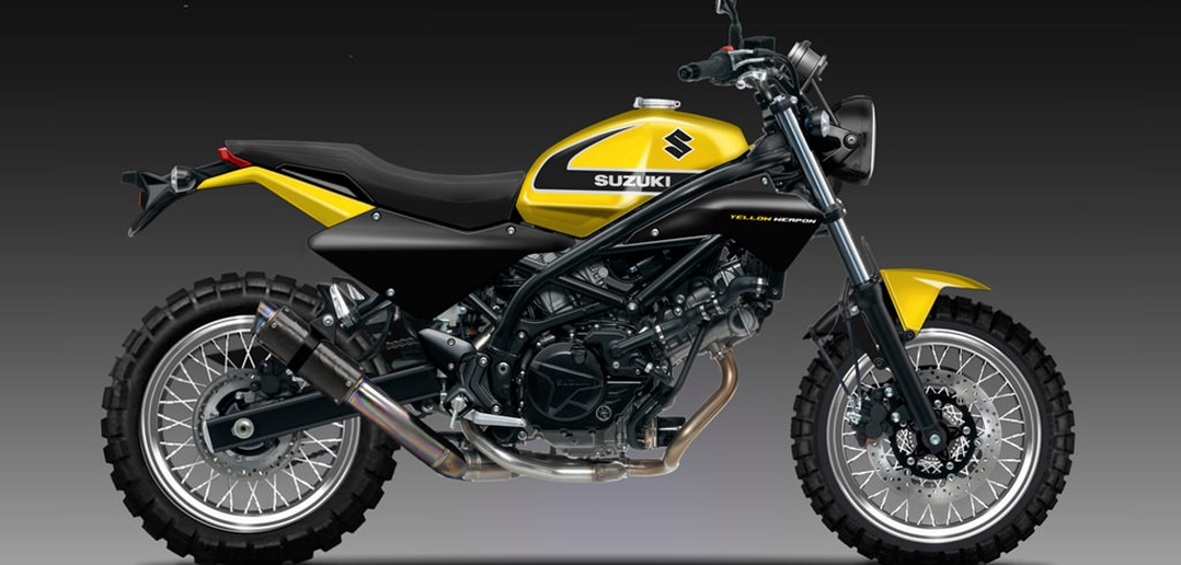 SUZUKI SV 650 SC YELLOW WEAPON-crop
