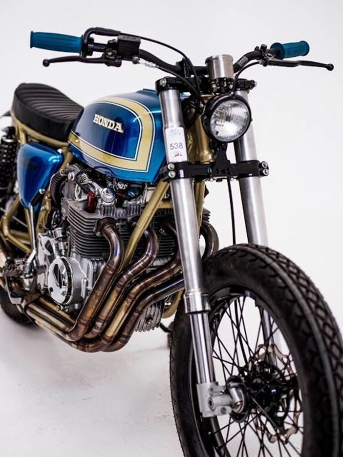 Honda CB550 SS por Herencia Custom Garage
