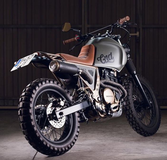 Honda NX650 por Cafe Racer Dreams
