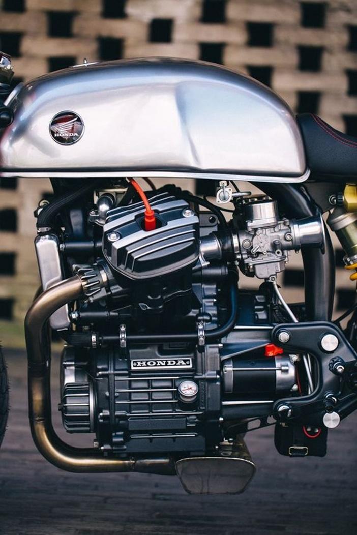 Sacha Lakic y su Honda CX500 Cafe Racer 6