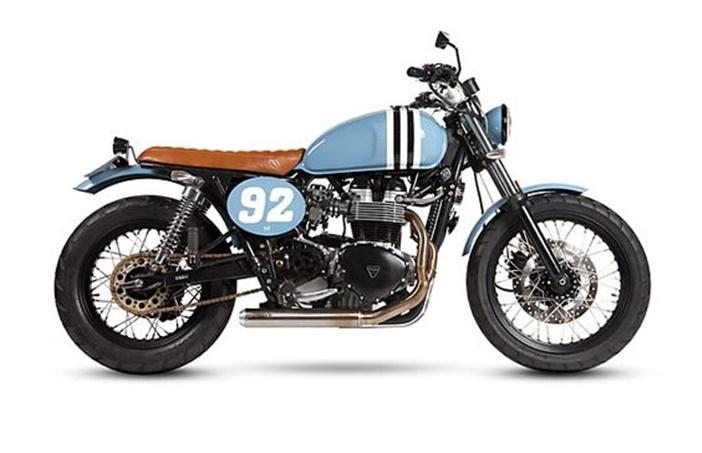 Triumph Boneville por Maria Motorcycles