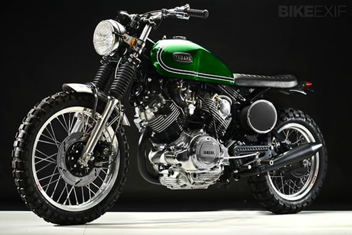 Yamaha Virago XV920 por Greg Hageman