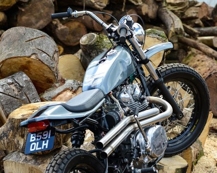 Yamaha XS750 por Redmax Speedshop
