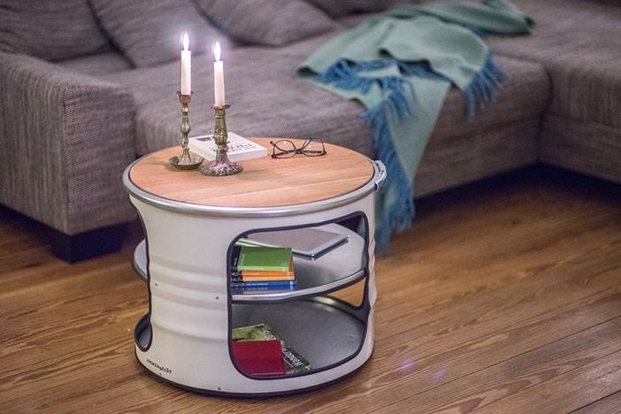 O como mesa auxiliar, visto en lockengeloet.com
