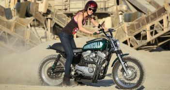 La Harley Davidson Scrambler sí existe